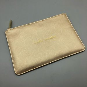 Katie Loxton London Sparkle Everyday gold pouch